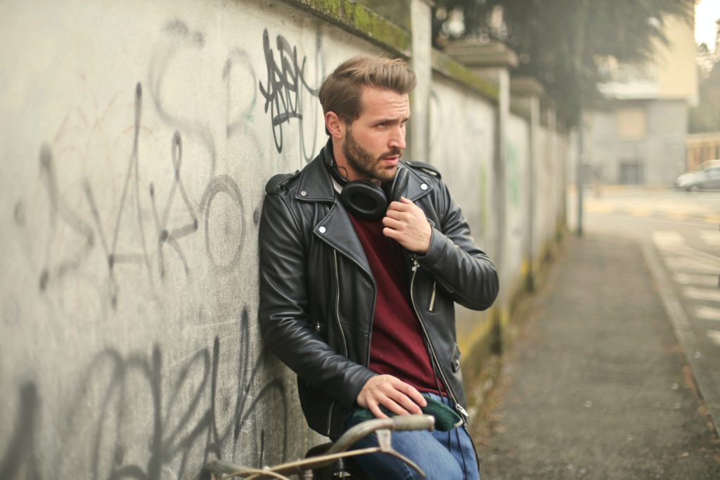 leather jackets; best men outfit ideas