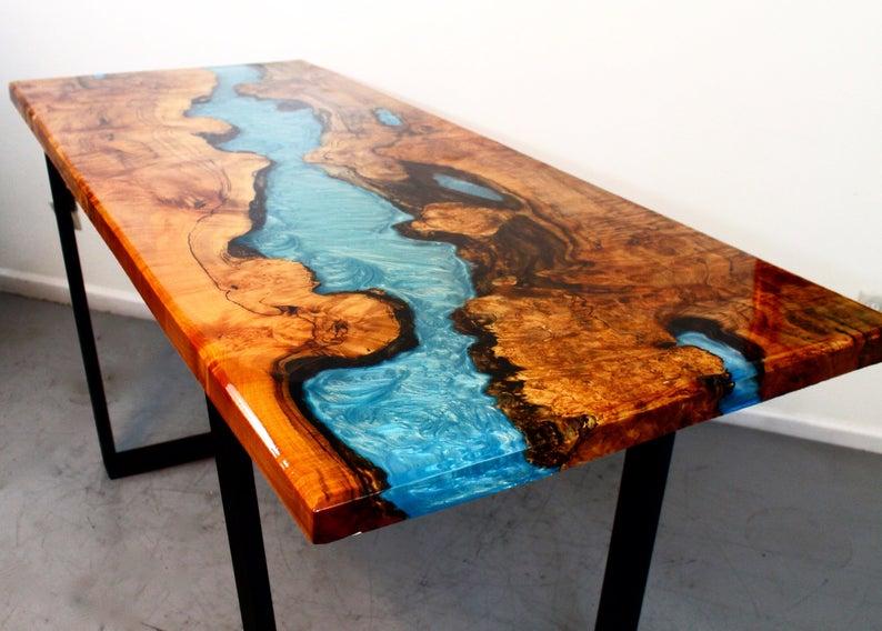 epoxy coffee table
