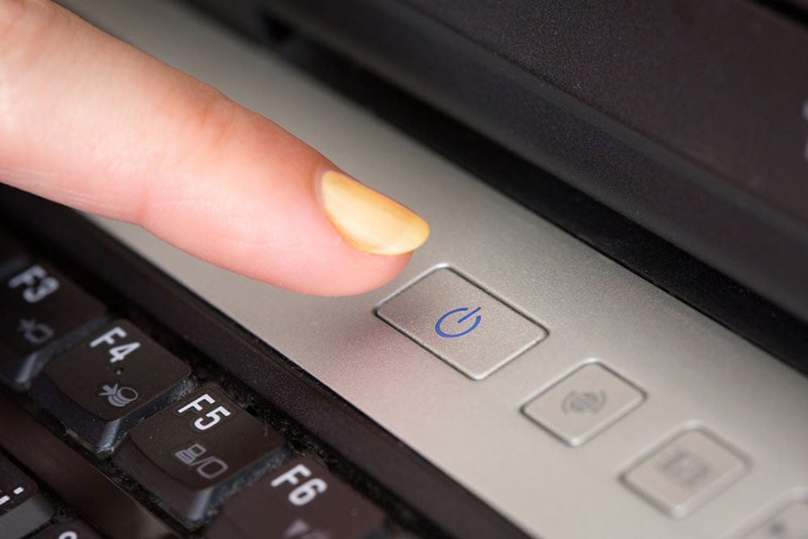 How to shut down laptop