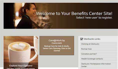 Mysbuxben Starbucks benefits login