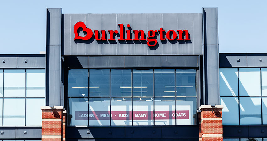 Burlington credit card login