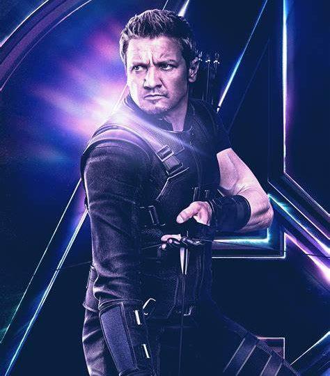 Marvel- Legend- Hawkeye