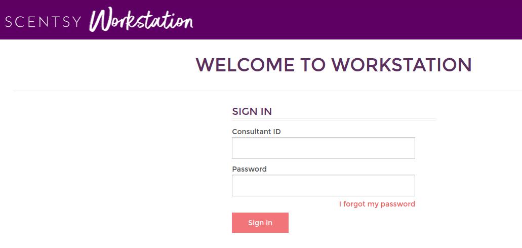 www scentsyworkstation login