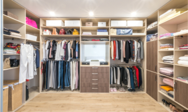 Modular Wardrobe Design Ideas